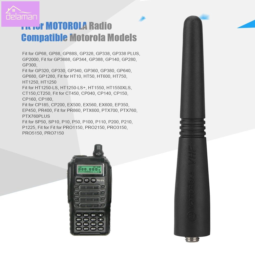 Extendable Antenna For Motorola GP88S CP200 EP450 SP50 SP10 Radio VHF 136-174MHz