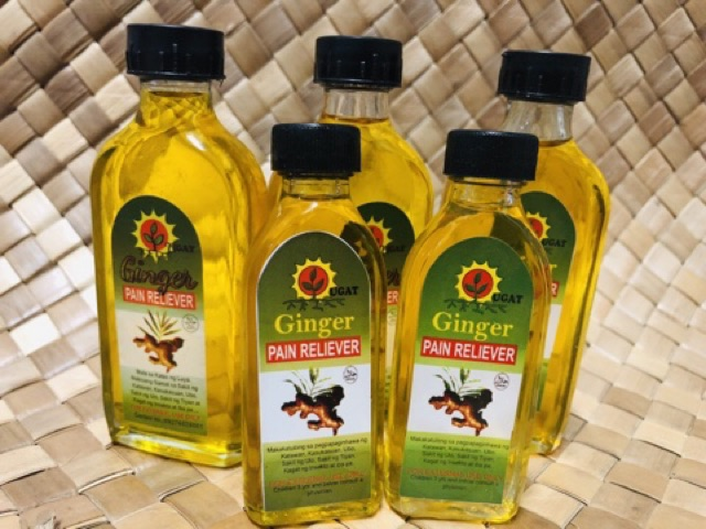 Ginger Pain Reliever Oil (50ml)
