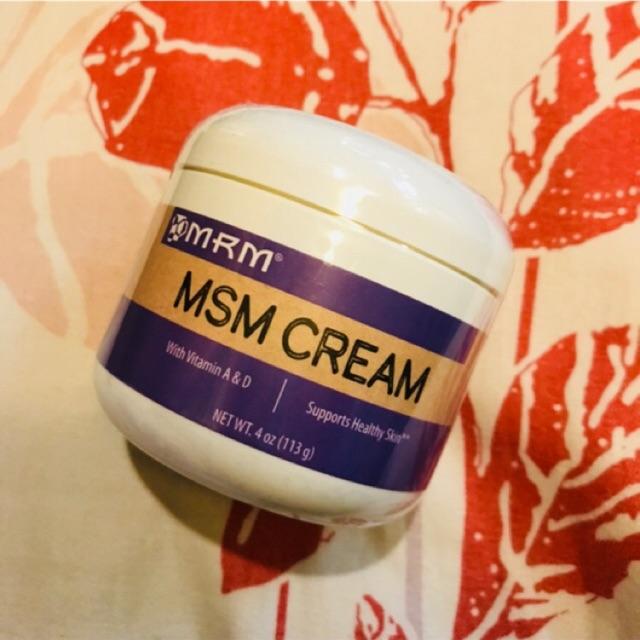 Authentic MRM MSM CREAM for ACNE