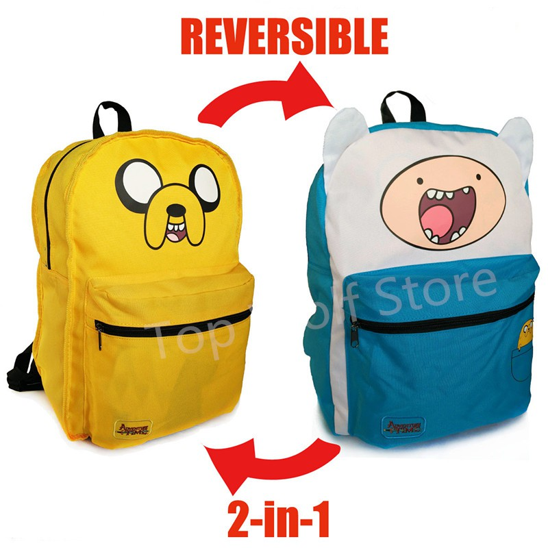cc0e44946f Original Adventure Time Backpack Finn and Jake Schoolbag Bag ...