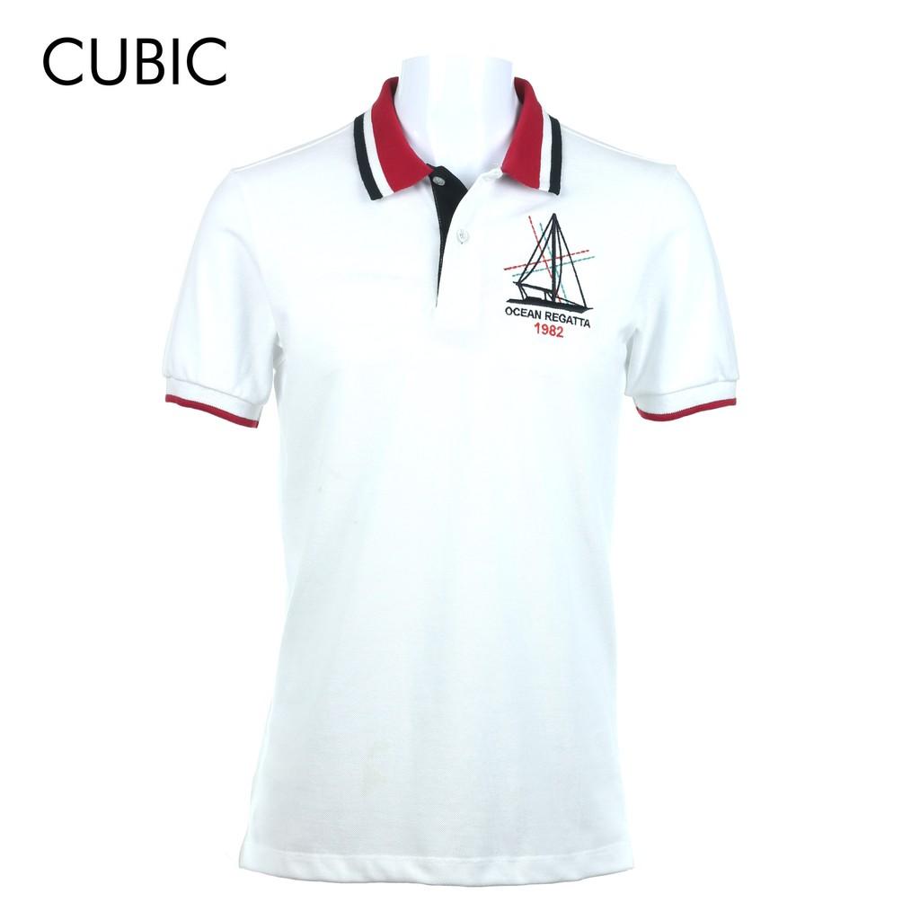 b645e0ed6 Cubic Men Basic Pique Maroon Polo-shirt - CBSM002H | Shopee Philippines