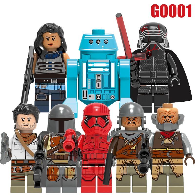 Sith Trooper Star Wars Minifigures Minifig Blocks