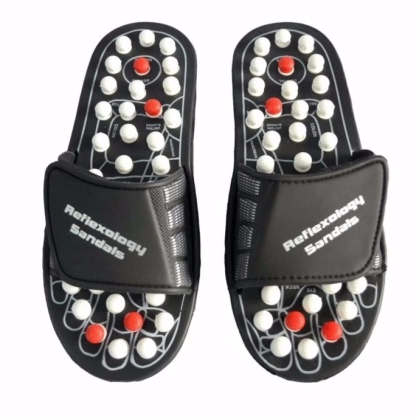 d2476072703c Acupuncture Foot Reflex Massage Slippers