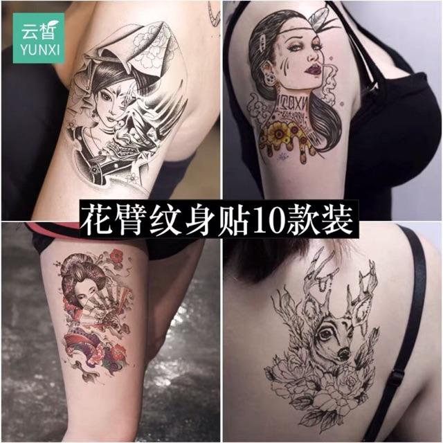 aa03761913bf0 Waterproof Temporary Tattoo Sticker Women party Body DIY | Shopee  Philippines