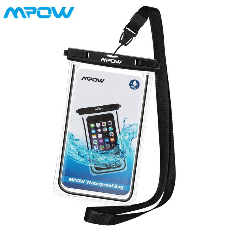 new style eb944 212be Mpow IPX8 Waterproof Case Phone Pouch for 6inch iPhone