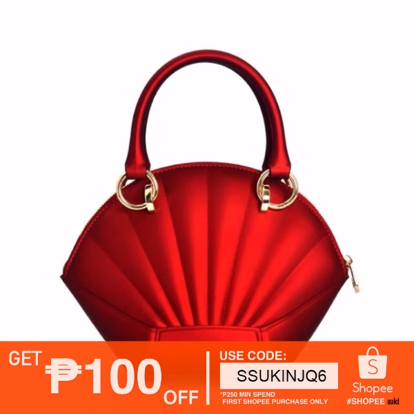 Korean Fashion Elegant and Advanc Shaped Shell Bag Sling Bag
