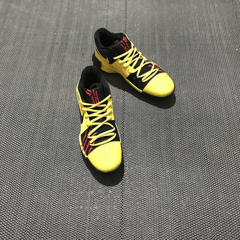 1da20467d209 2018 Nike Kyrie 4 Mamba Mentality Bruce Lee In Tour Yellow a ...
