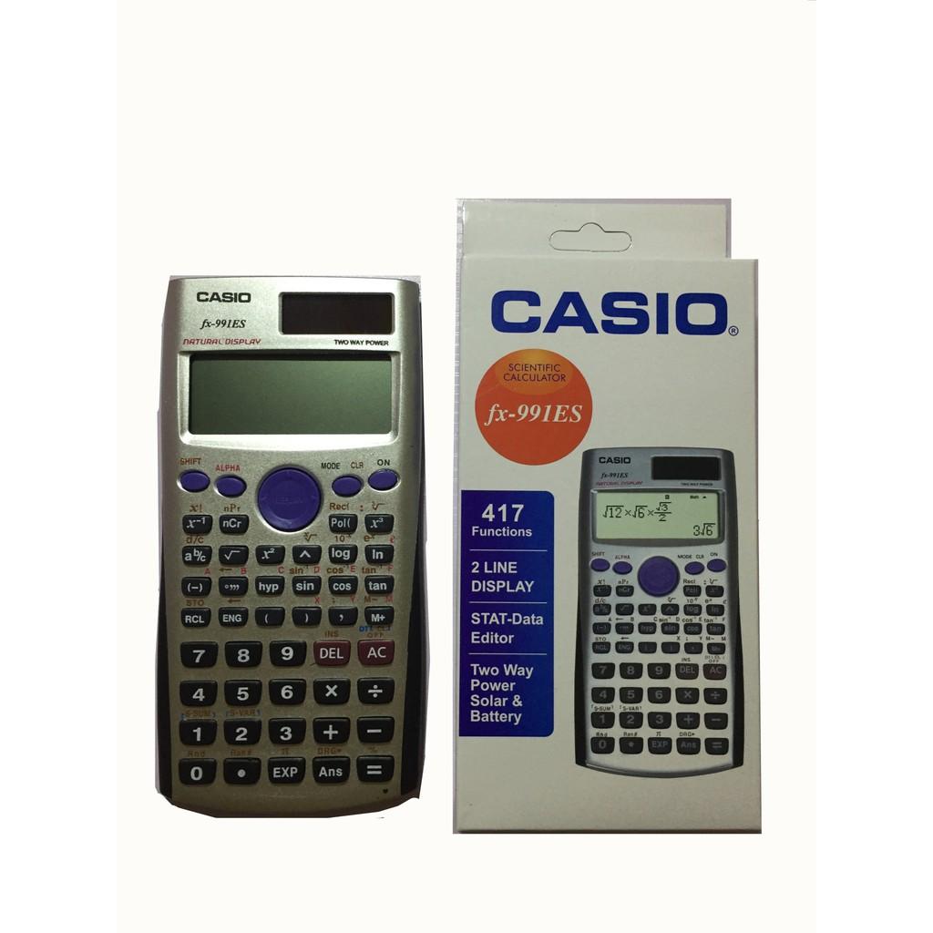 Casio Scientific Calculator Fx 991es Plus Shopee Philippines 991 Id