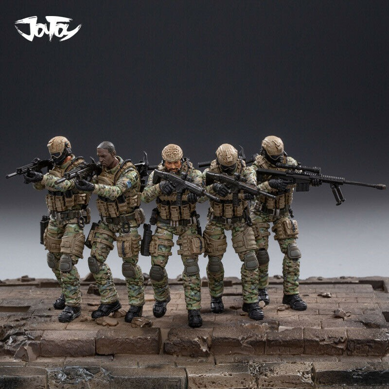 JOYTOY 1//25 Field Command Center With Exclusive Field Force Soldiers Toy New