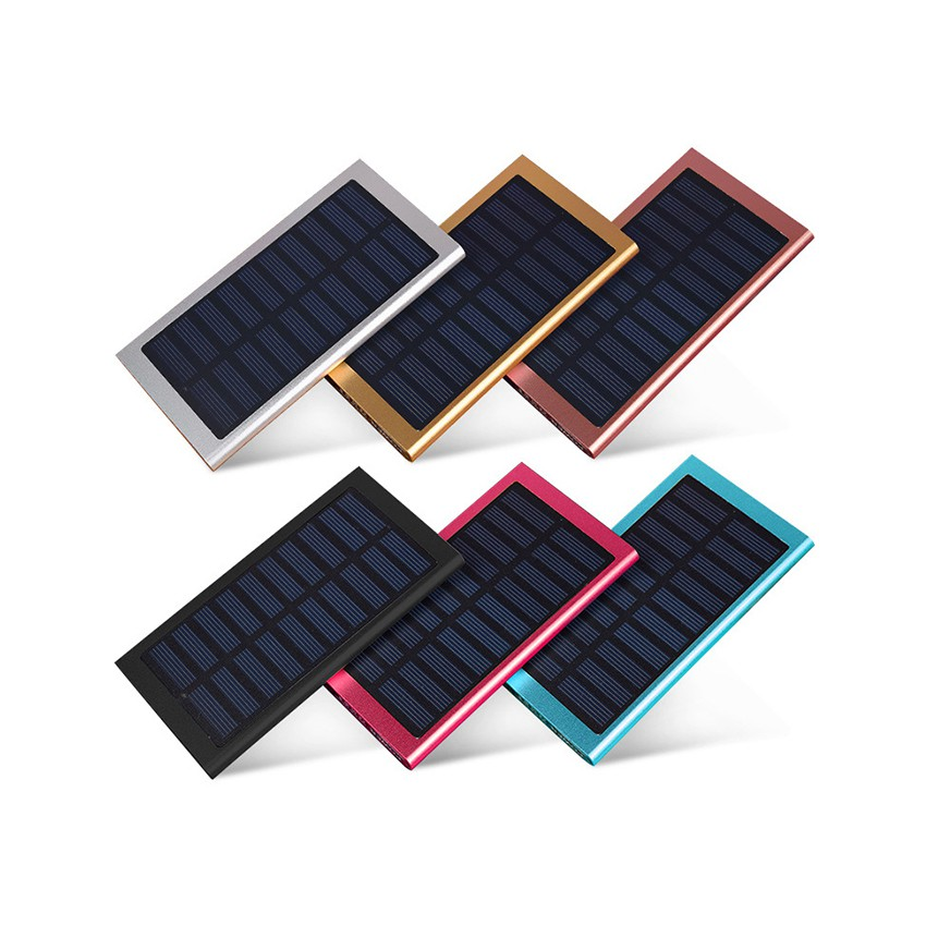 Solar Slim Power Bank 20000mah