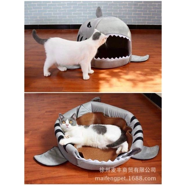 05ea4a8b Shark Design Bed For Small Dogs&Cats | Shopee Philippines
