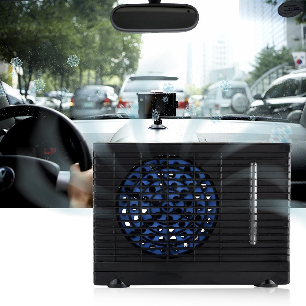 12V Portable Car Vehicle Water Cooling Air Conditioning Fan Cooler ...