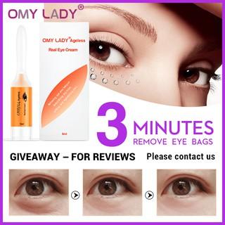 OMYLADY 1pair Gold Masks Crystal Collagen Eye Mask Anti-Wrinkle Eye