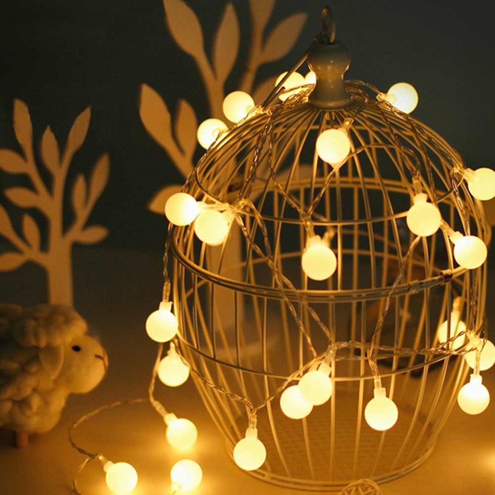 Globe String Lights Battery Operated