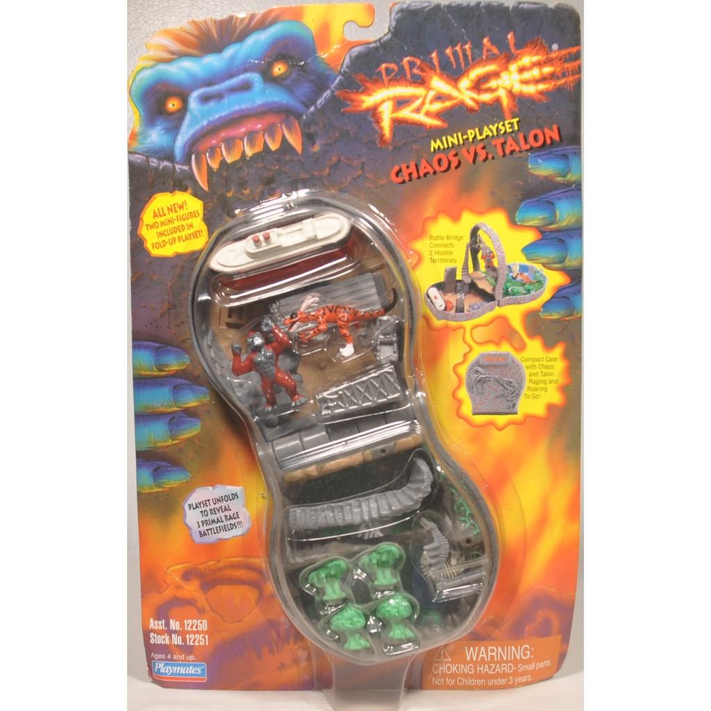Primal Rage Chaos Vs Talon Playset