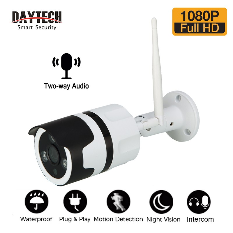 DAYTECH IP Camera Outdoor Security CCTV 1080P ipcam Waterproof Motion  Detect (H03)