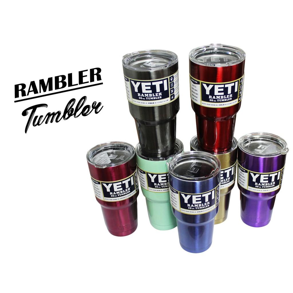 Yeti Rambler Tumbler (30oz) Stainless steel