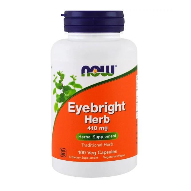 Now Foods Eyebright Herb 410 mg 100 Veggie Capsule