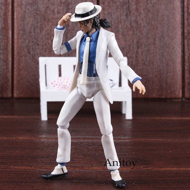 Michael Jackson Action Figure Moonwalk Statue PVC Model Toys Collection New RTY