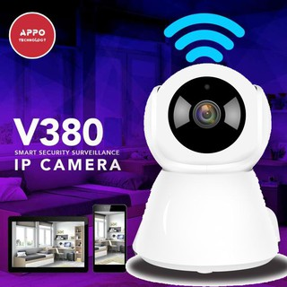 360 degrees 1 3 million WiFi Ip camera camera LED bulb V380