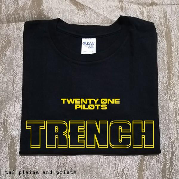 77d21ba5 Twenty One Pilots - East Is Up Trench Minimalist Tee Shirt | Shopee  Philippines