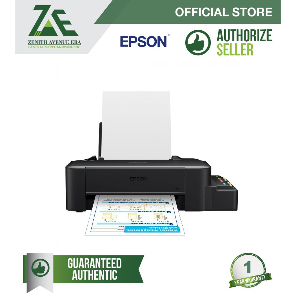 Epson L120 Single Function Colored Printer