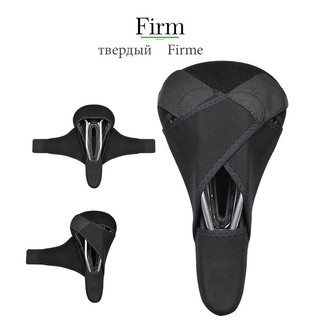 E60D New Bike Cycling Bicycle Silicone Sponge Saddle Seat Cover Cushion Fashion