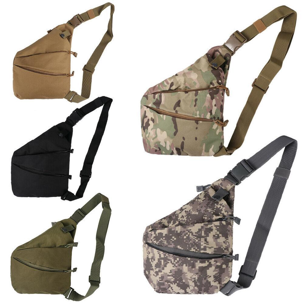 Cover Concealed Chest Bag  Nylon Holster Tactical Storage Anti-theft Pouch