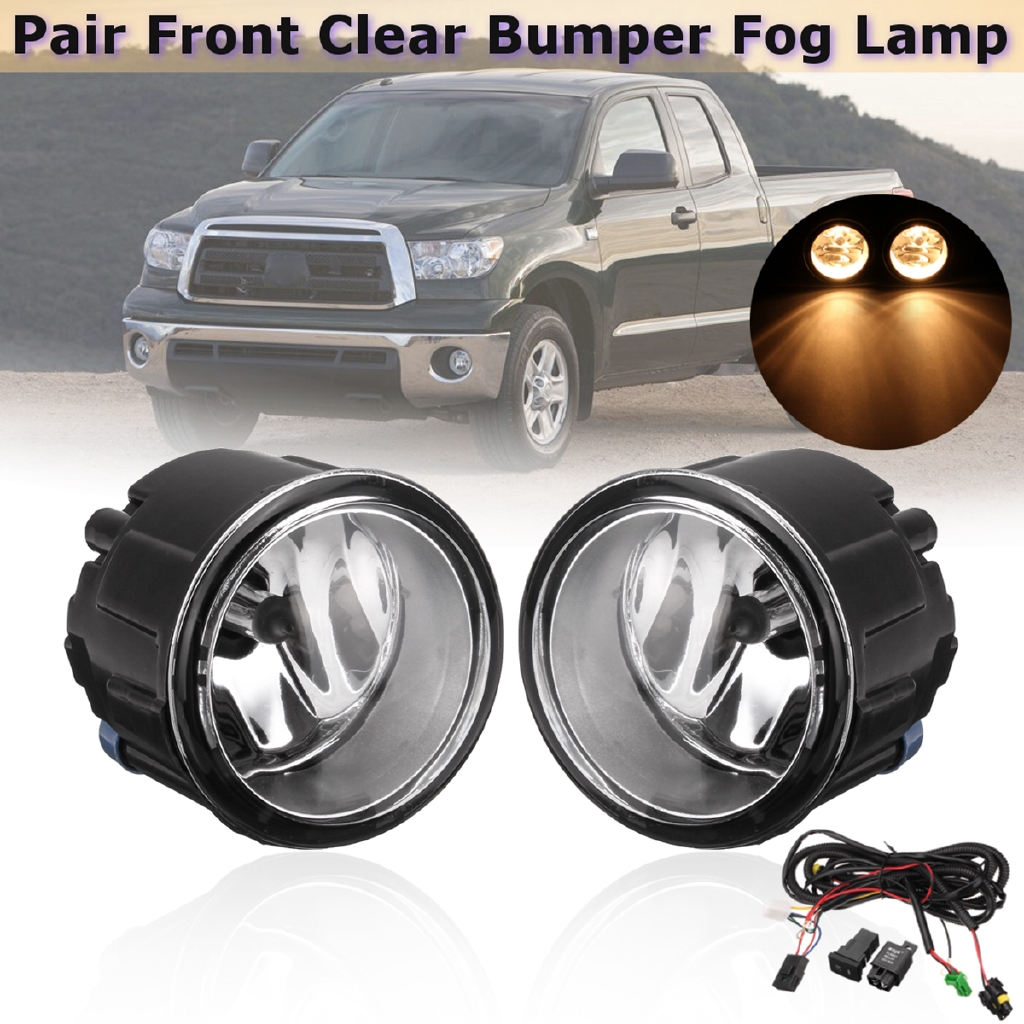 Set of 2 Clear Lens Fog Light For 2004-06 Ford Expedition LH /& RH CAPA w// Bulbs
