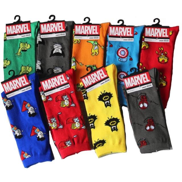 f76a76ec9 Marvel Heros Iconic Socks | Shopee Philippines