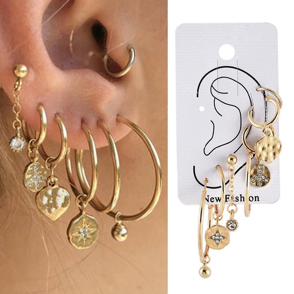 silver zipper ear cuff clip on stainless steel single earring Non pierced unisex