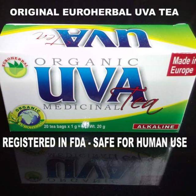 UVA Medicinal Tea Euroherbal