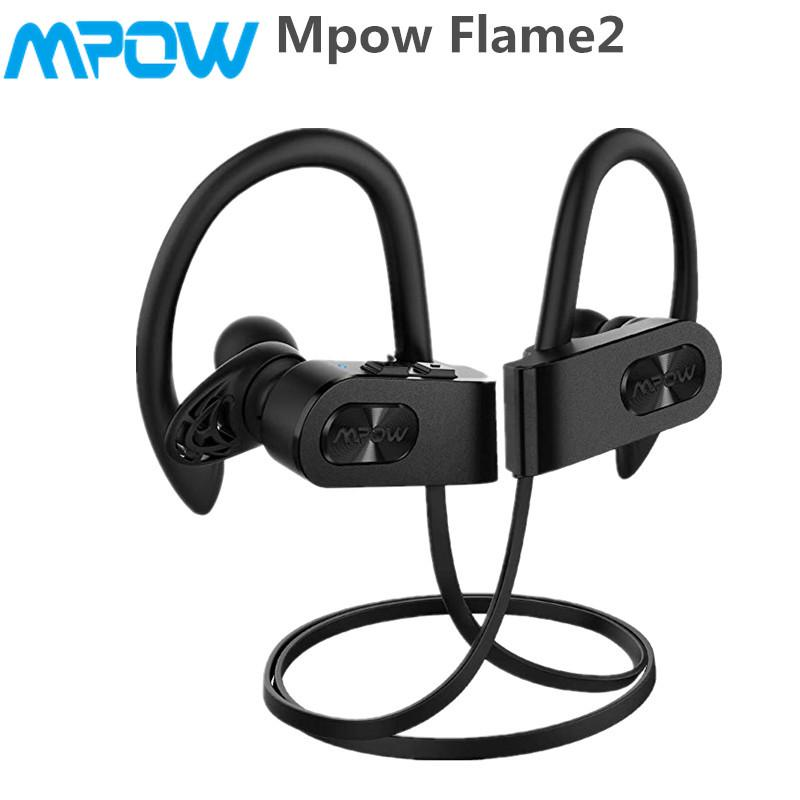 2df41389047 Mpow Flame2 Bluetooth 5.0 IPX7 Wireless 13-Hr Playtime Earbuds Sport  Headsets w/CVC 6.0 Mic | Shopee Philippines