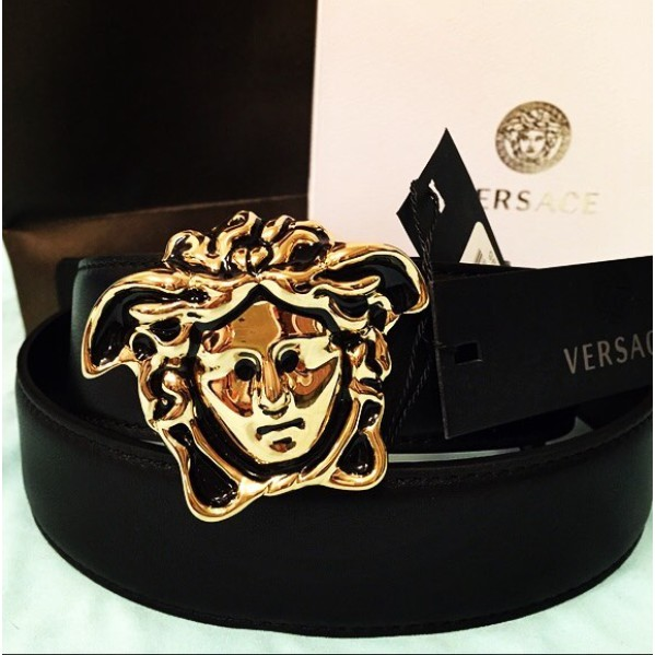 Versace 2 5 Cm Palazzo Series Medusa Head Buckle Belts Women