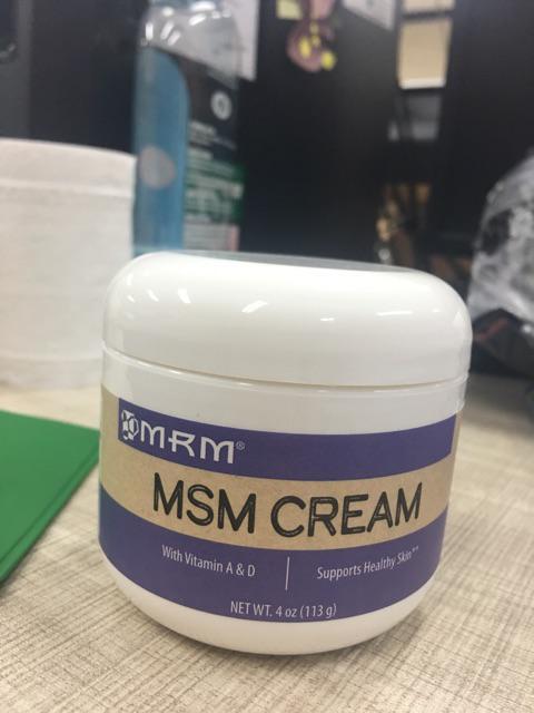 Authentic MRM MSM CREAM for ACNE   Shopee Philippines