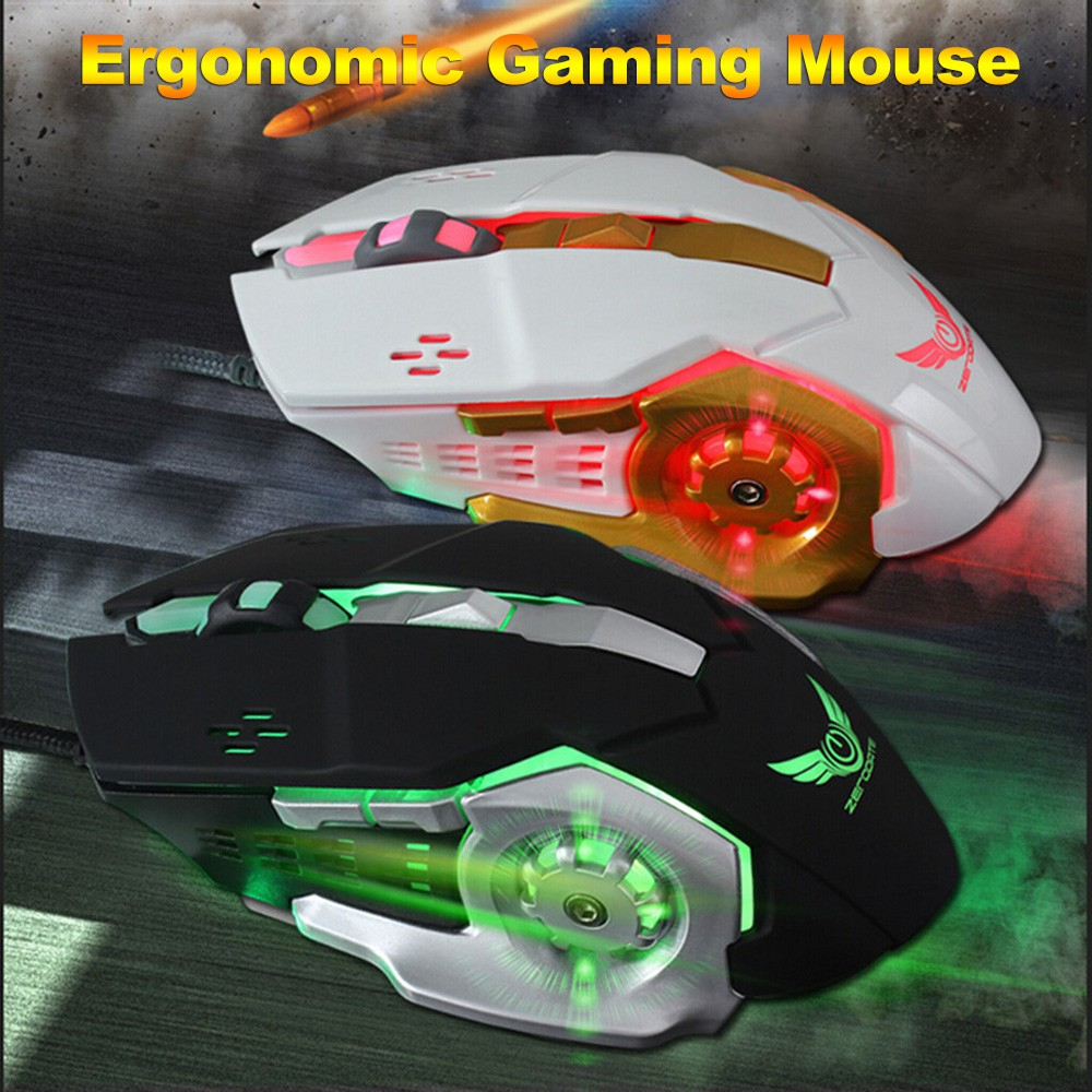 James Donkey Ergonomic Wired Optical Gaming Mouse With 6 Shopee Wireless 1600dpi Philippines