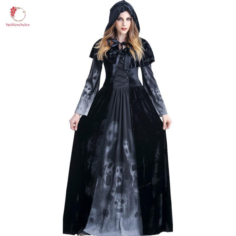 "Customize Black Cloak Grim Reaper 1//6 Female Clothing Suits Fit 12/"" Girl PH Body"