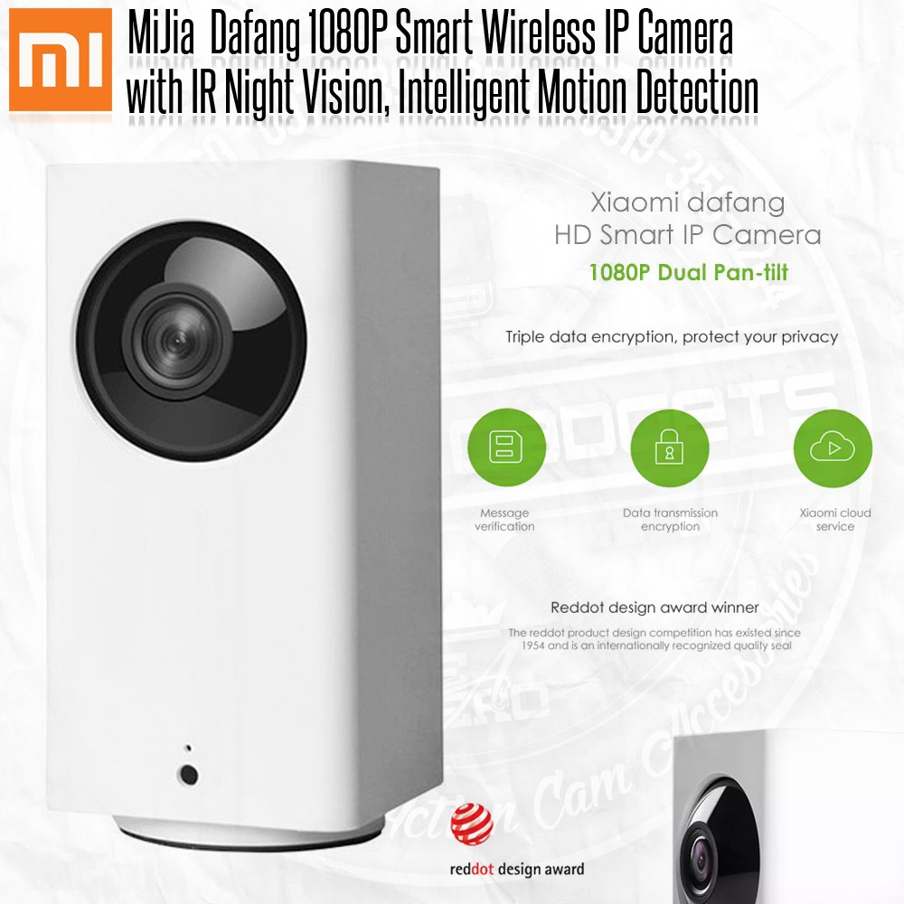 Original Xiaomi Mijia Xiaofang New Dafang Smart Ip Camera Shopee Wifi Cctv 1080p With Night Vision Philippines
