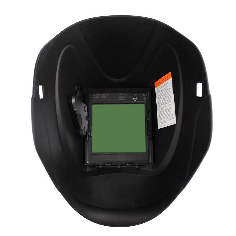 Auto Darkening Welder/'s Mask Inster Large View Arc Sensor Solar Filter Glass
