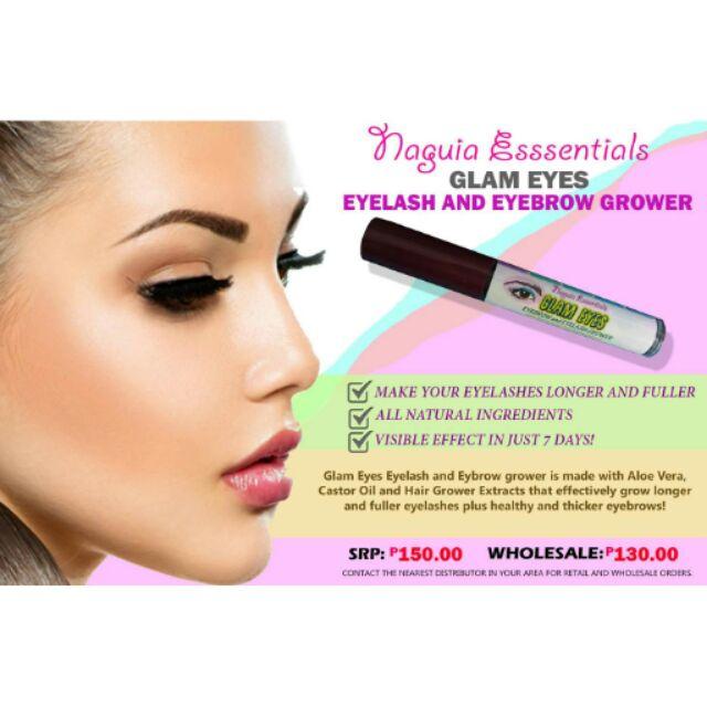 Glam Eyes Eyelash And Eyebrow Grower Shopee Philippines