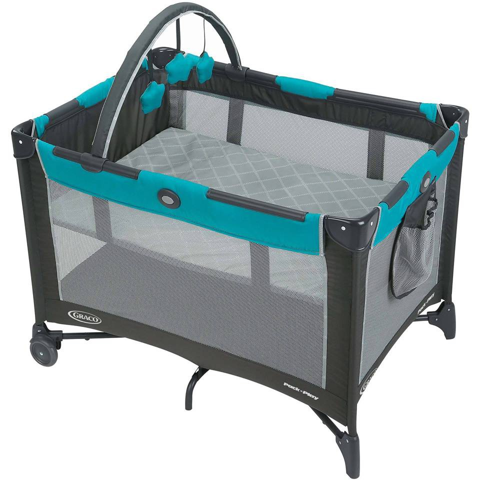 NEW Graco Pack /'n Play Playard On the Go with Folding Feet Livia *BRAND NEW*