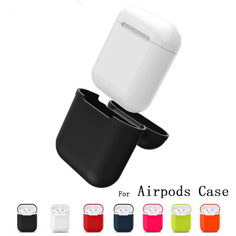 b4e36dced9d Apple Airpods Silicon Case Cover | Shopee Philippines