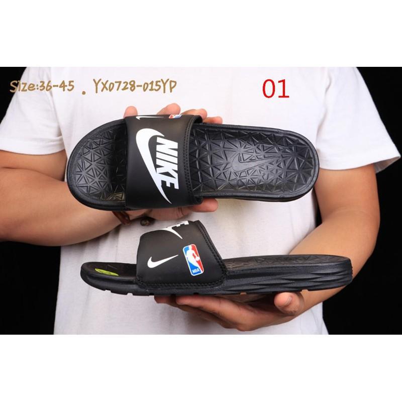 22d8d2821098 mins original  9 colors NBA x Nike Benassi SolarSoft Slide 2 slippers mens  sandalsrunning
