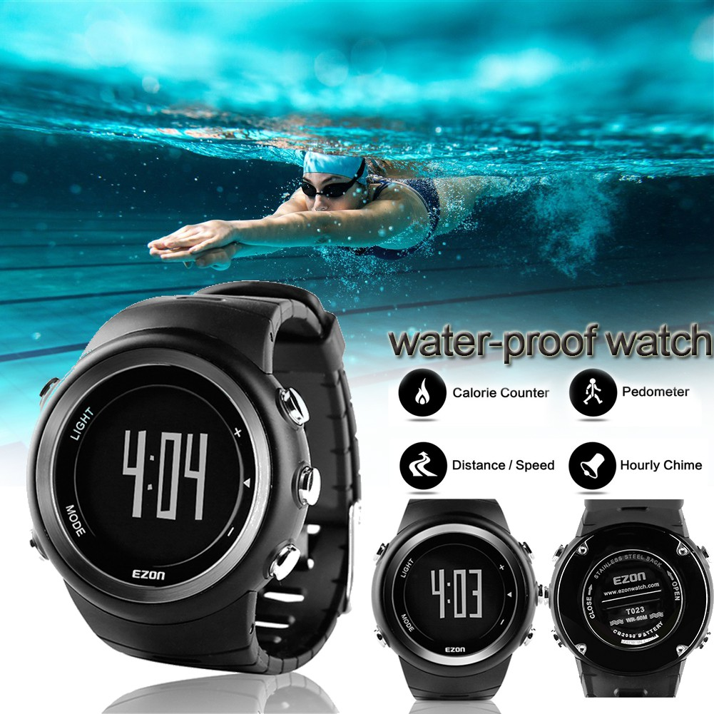 Applicable running sports watch pedometer calorie monitor digital watch