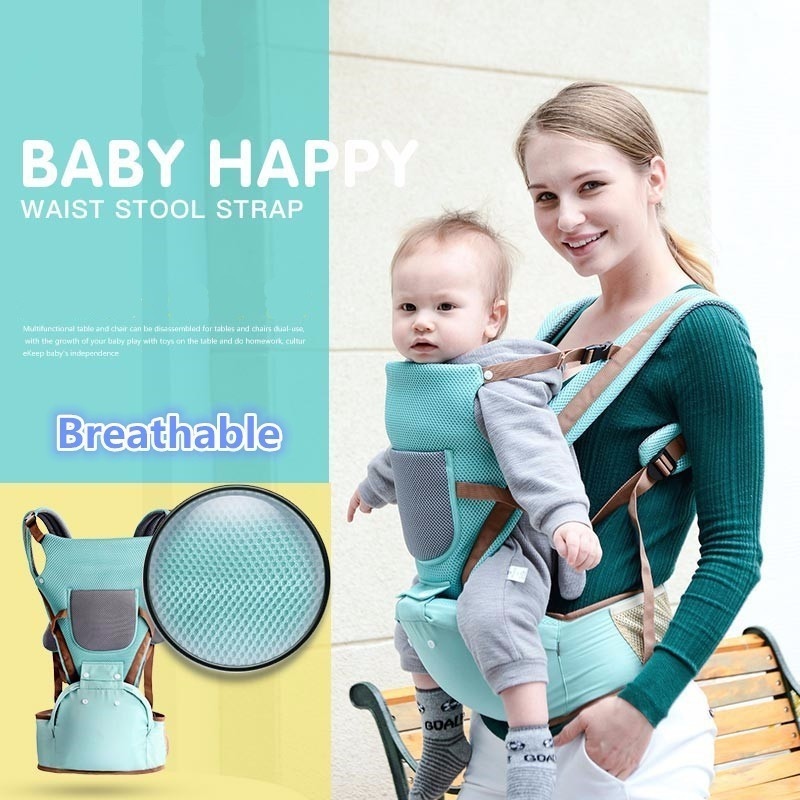 Activity & Gear Backpacks & Carriers Reasonable Fashion Infant Newborn Baby Hold Carrier Anti-slip Waist Belt Stool Chair Storage Pouch Delicacies Loved By All