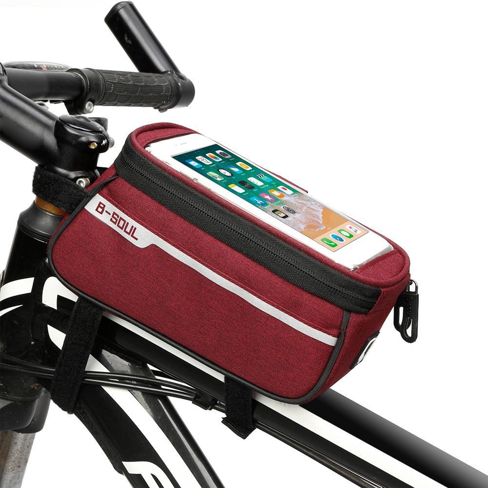 72953dc01be CBR Bike Handlebar Mounted Touch Screen Phone Pouch Case Bag ...
