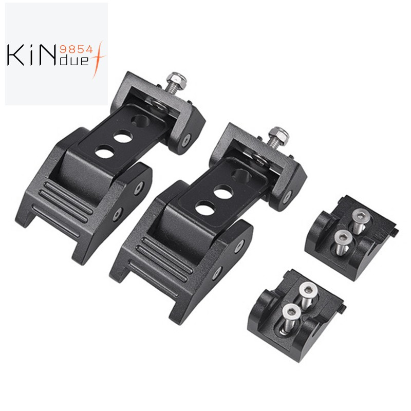 Locking Hood Catch Latch Kit Set Lock For Jeep Wrangler JK Unlimited 2007-2017
