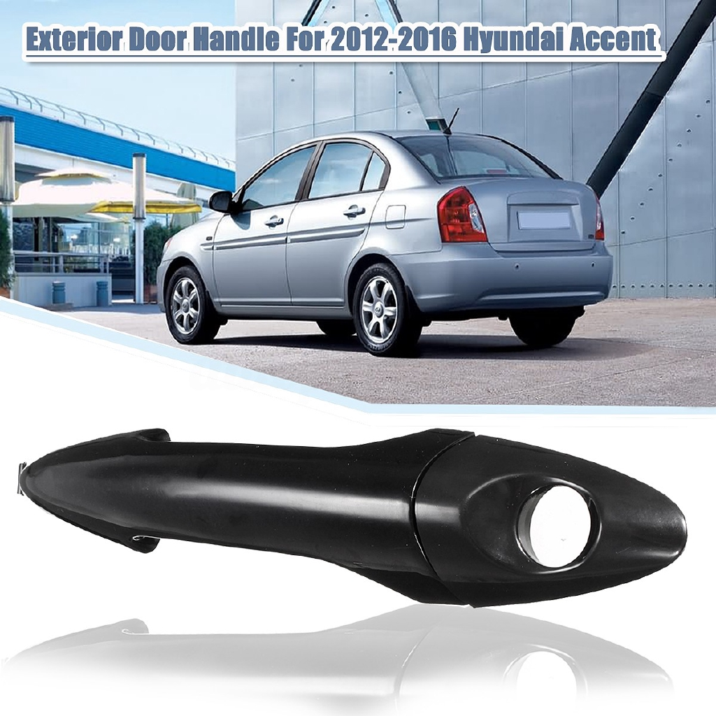 New Drivers Outside Front Door Handle with Keyhole for Hyundai 1996-1998 Elantra