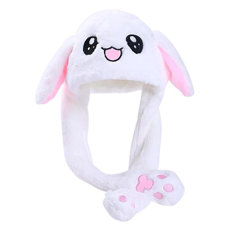 8d43611f4 Rabbit Ear Hat Ear Move Bunny Hat