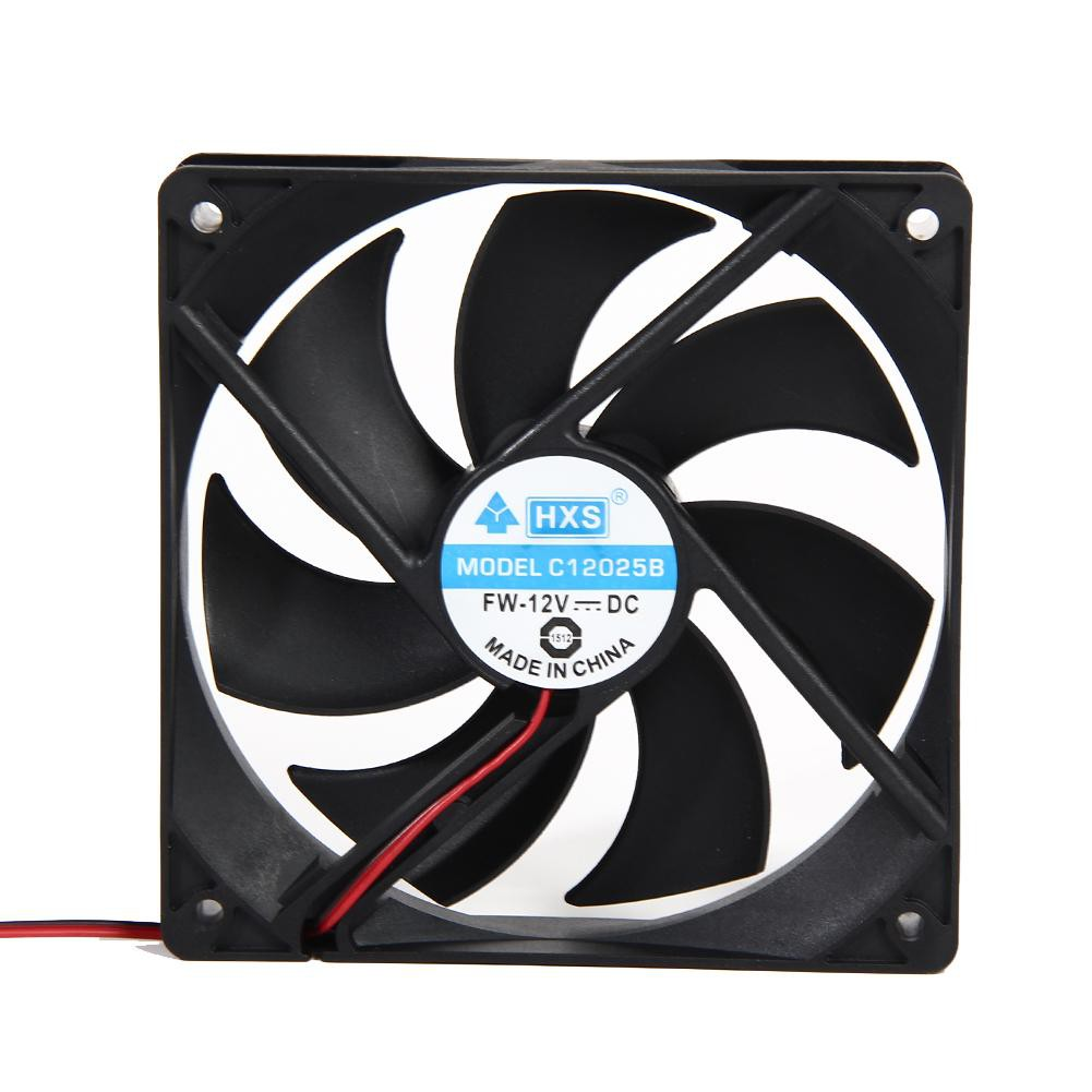 40mm 50mm 60mm 70mm 80mm DC 12V 2//3Pin Cooling Cooler Fan Square for PC Computer
